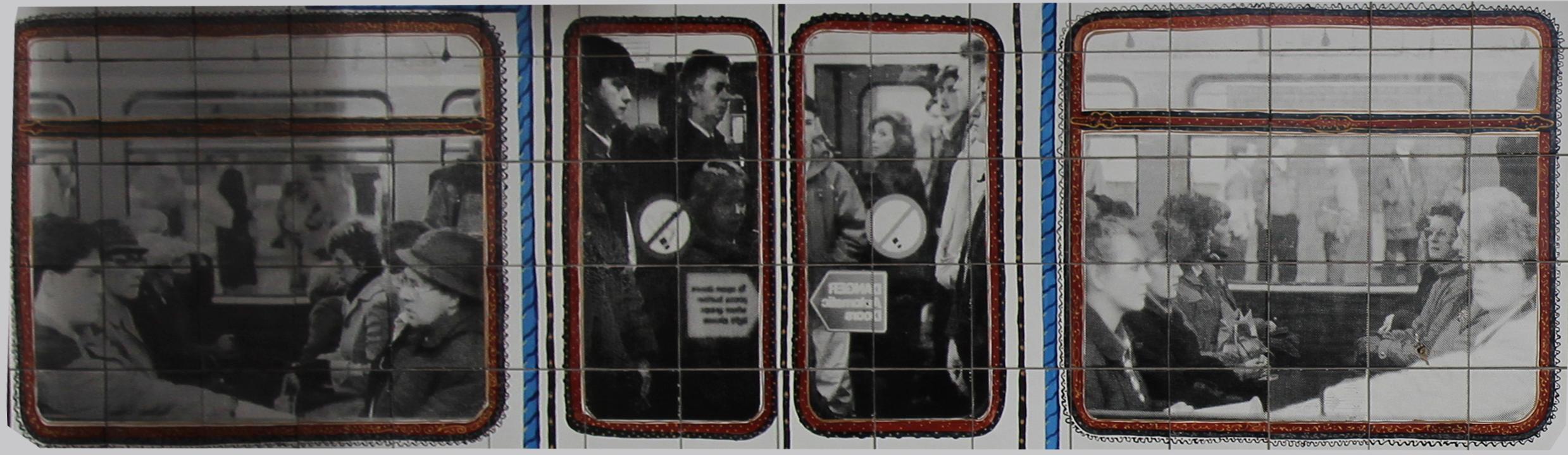 Fenstern Metro Mural