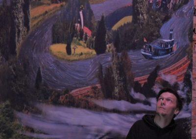 Mario Bösemann bei der Panorama einbau klein