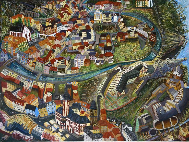"Sarah Grill | ""Weide"", 2009, 90 cm x 120 cm"