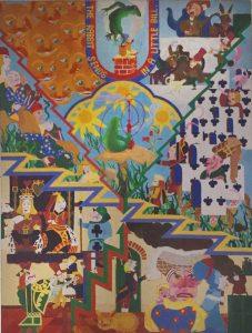 Alice in Wonderland 1976 180cm x 120cm