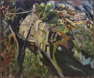Clifton Gorge 1980 110cm x 140cm