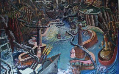 Whitby Broken Landscape – Gebrochene Landschaft 1988