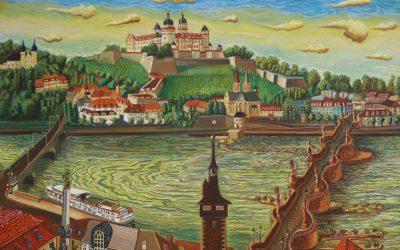 Würzburg mit Schloss 1999
